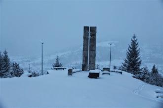 Photo: To je ten kríž, čo vidno z Terchovej