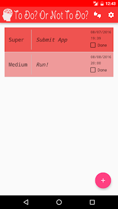 to do or not to do todo list androidアプリ applion