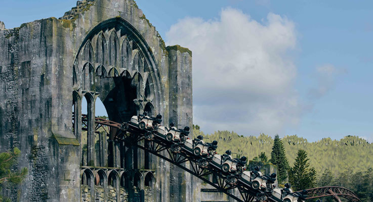 NEW Harry Potter roller coaster opens on 13th June!