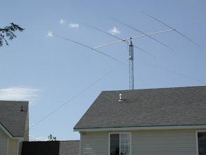Photo: HyGain 204BA at 50 Feet, main 20 meter station #1 Antenna.