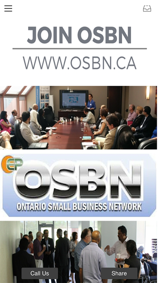 Ontario Small Business Network- screenshot