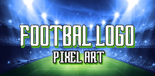 Football Logo Color By Number Soccer Pixel Art 12