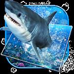 Ocean Shark Keyboard Theme