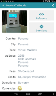 Bitcoin ATM Map CoinATMRadar Screenshot Thumbnail