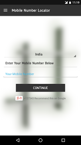 Mobile Call Number Locator Screenshot