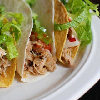 Slow Cooker Beer Chicken Tacos