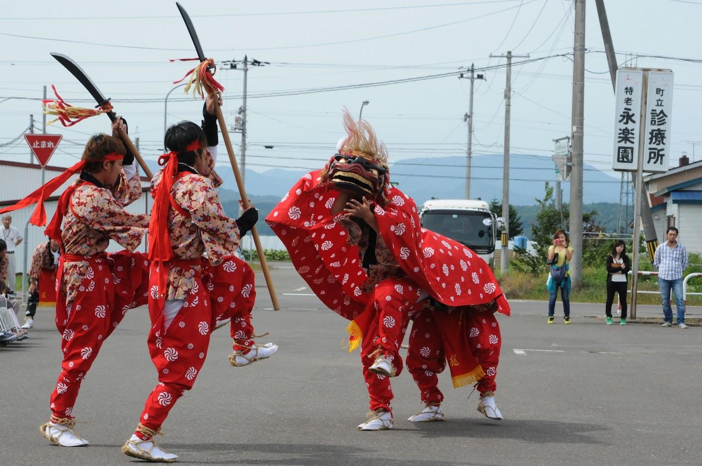 獅子舞(3)