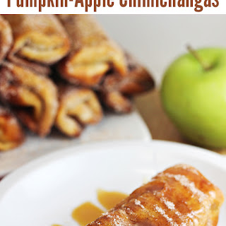 Pumpkin-Apple Chimichanga