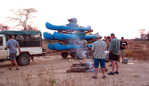 Mopane canoe trail