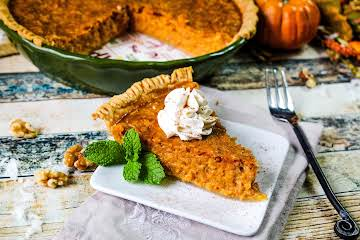 Coco Nutty Pumpkin Pie