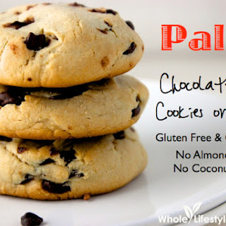 Paleo Chocolate Chip Cookies or Scones Recipe {No Almond Flour, No Coconut Flour}