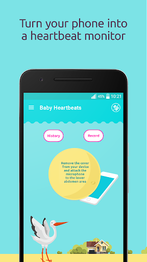 Baby Heartbeat Monitor screenshot
