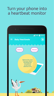 Baby Heartbeat Monitor - screenshot