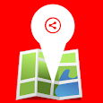 Share My Location (No ads) icon