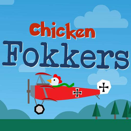 Chicken Fokkers - 2 player duel