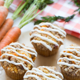 Carrot Coffee Cake Muffins