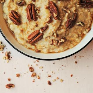 Banana, Maple and Pecan Porridge