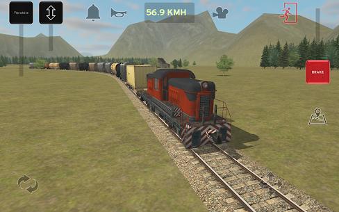 Train and rail yard simulator 3