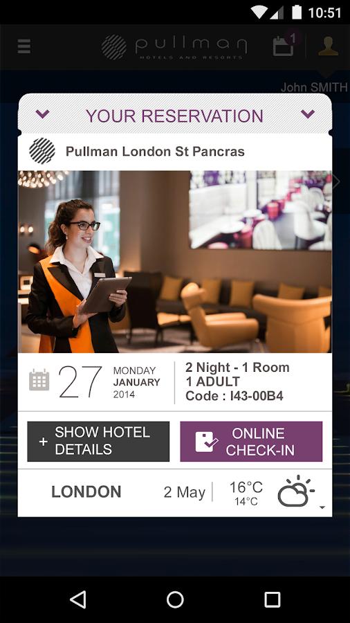 Pullman Hotels & Resorts - screenshot