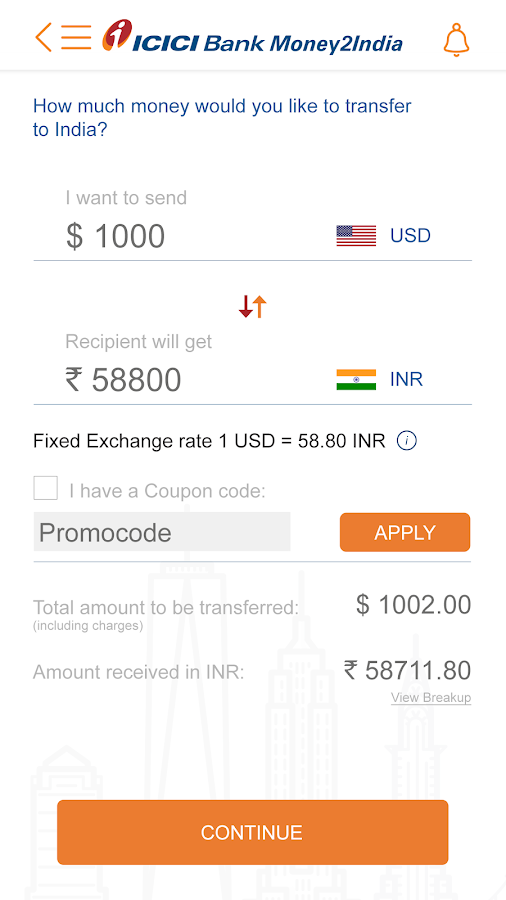 Icici forex customer care