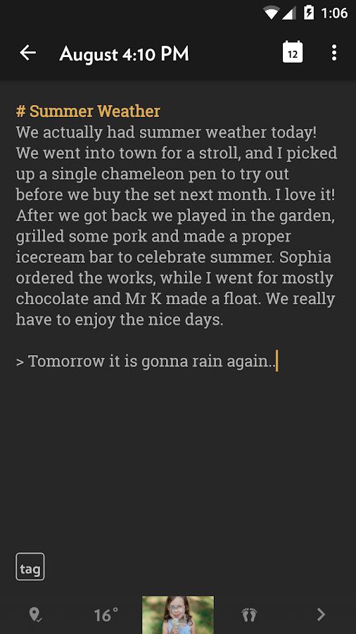 Journey (Diary, Journal)- screenshot