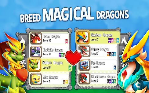 تحميل لعبة Dragon City مهكرة الاصدار الاخير 8