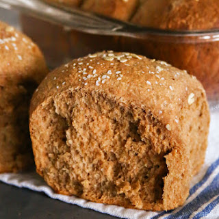 One Hour Brown Bread Dinner Rolls Recipe