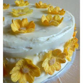 Pineapple Banana Layer Cake.
