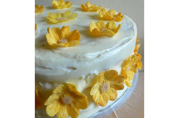 Pineapple Banana Layer Cake Recipe
