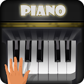 Virtual piano keyboard games