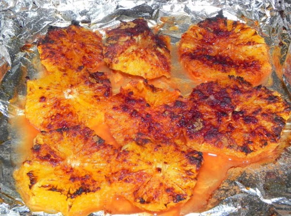 Place oranges in oven or toaster oven on broil. If toaster oven I ended...