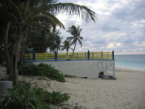 Photo: Yoga Retreat, Bahamas - side view of yoga deck