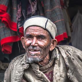 portrait   by Gaurav Bhave - Digital Art People ( travel photography, old man, portrait, travel, village )