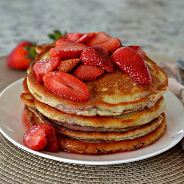 Strawberry Pancakes With Strawberry Sauce Recipe