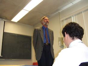 Photo: Introduction by David Aldous