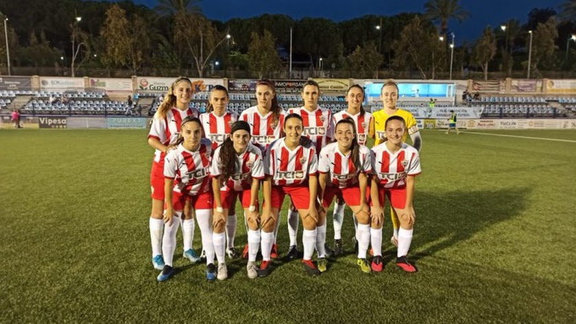 El once del Almería que se enfrentó al Granada.