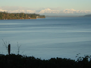 Photo: The Olympic Mountains after snowfall