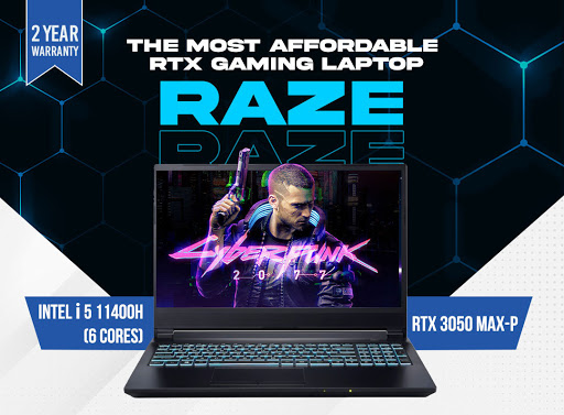 Ripple Raze with RTX 3050 Available for Pre-Order in Nepal