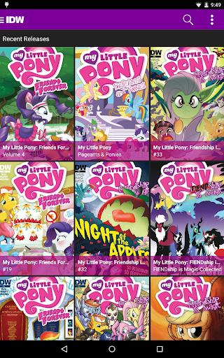 My Little Pony Comics 1.3.1 screenshots 10
