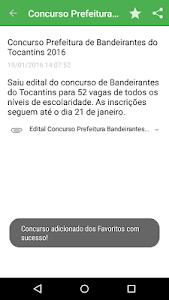 Concursos Mobile 2 screenshot 5