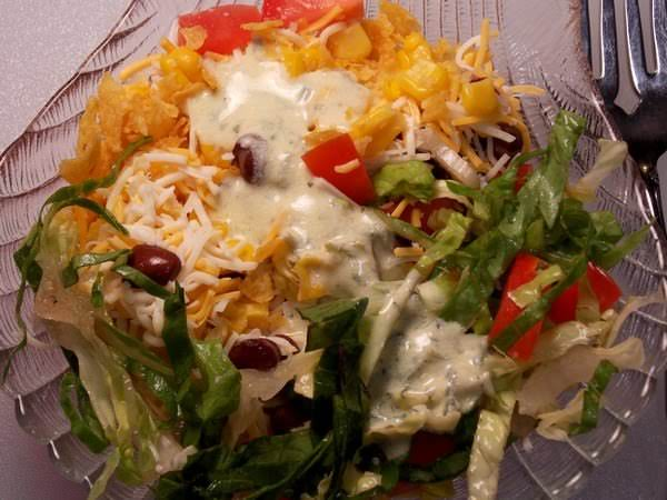 Layered Southwestern Salad Recipe