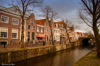 Photo: Maandag 11-03 in Edam.