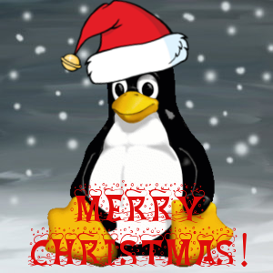 Photo: Merry Christmas fellow Linux users!