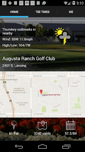 Augusta Ranch Tee Times- screenshot thumbnail