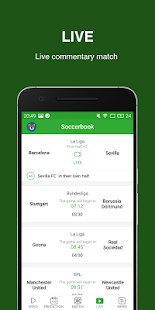 Soccerbook- Live Score, Soccer News, Videos - náhled