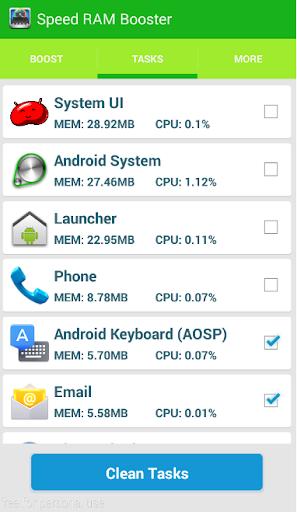 Phone RAM Booster