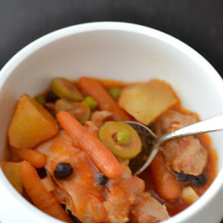 Homey Hearty Potato Chicken Stew
