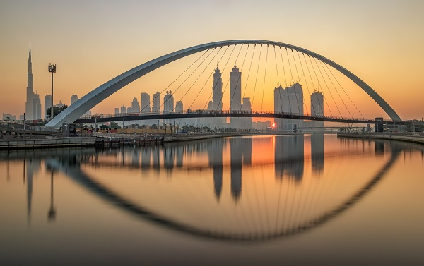 Dubai in the United Arab Emirates is one of the fastest growing cities in the world.