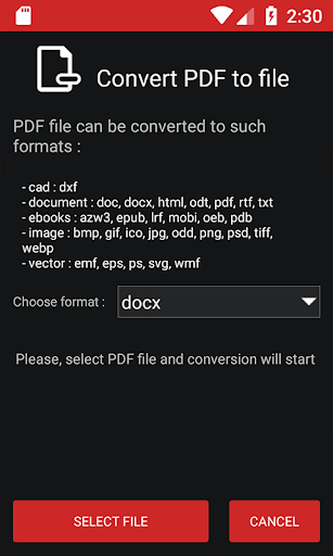 PDF Conversion Tool (no ads) screenshot 3
