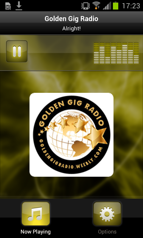 Golden Gig Radio- screenshot